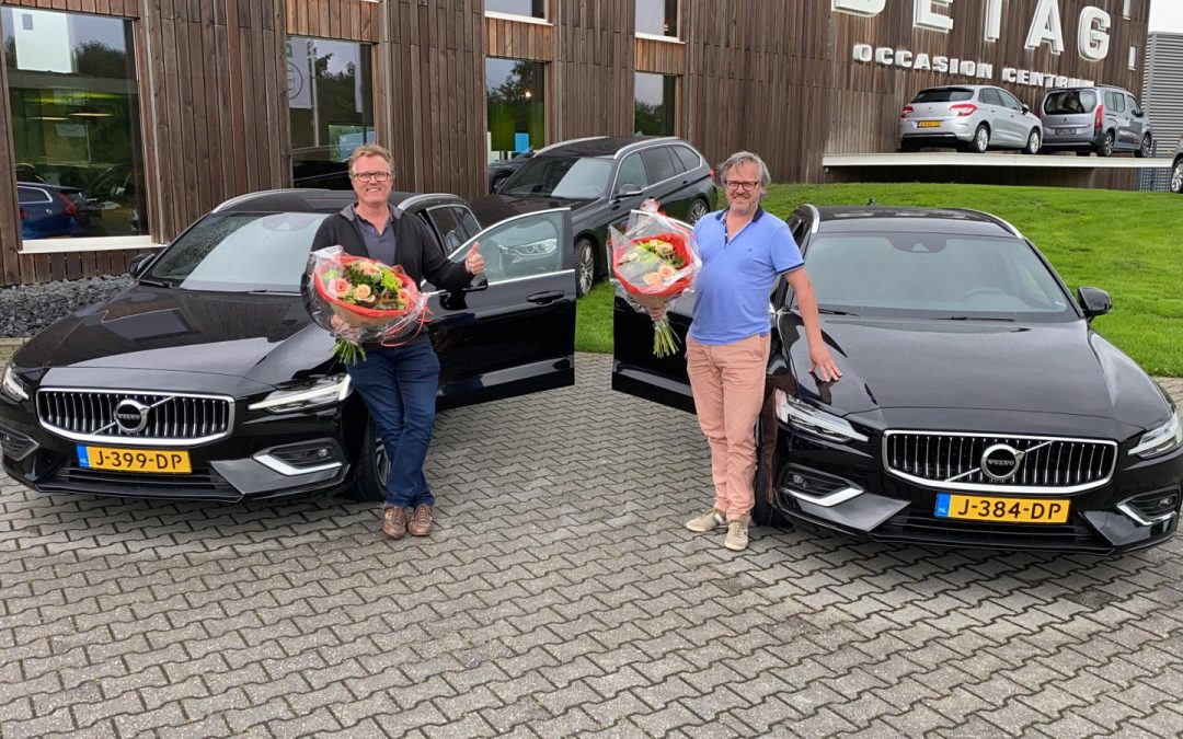 2x Volvo V60 T5 Inscription voor Digital Sensoring Asset BV